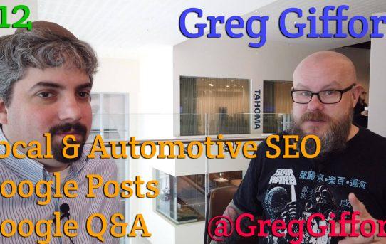 Video: Greg Gifford analiza las publicaciones de Google, las preguntas y respuestas de Google y el SEO local