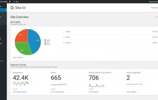 Google lanza el complemento de Kit de sitio para WordPress