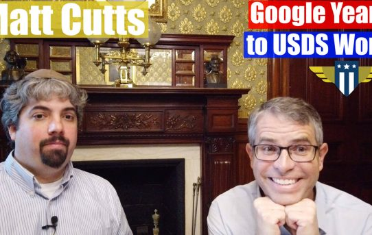 Video: Matt Cutts, ex administrador de spam web de Google, durante sus días en Google, trabajo actual en US Digital Services