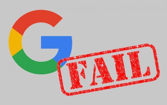 Mensajes de Google rechazados por incumplimiento de las pautas de imágenes