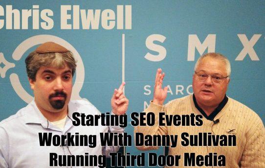 Video: Chris Elwell, CEO de Search Engine Land y SMX, habla sobre negocios, y esta vez Sergey Brin patinó en el escenario